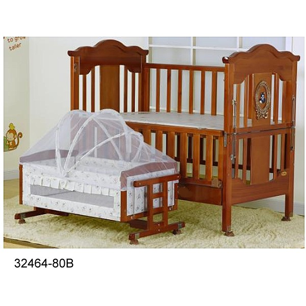 32464-80B Baby bed