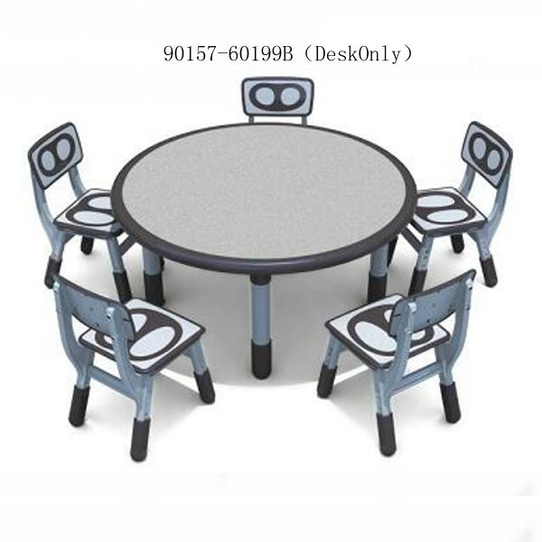 90157-60199B(DeskOnly)combinable round table