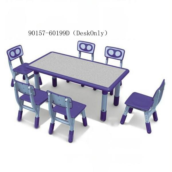 90157-60199D(DeskOnly)combinable rectangle table