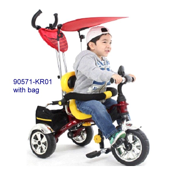 90571-KR01with bag Children tricycle