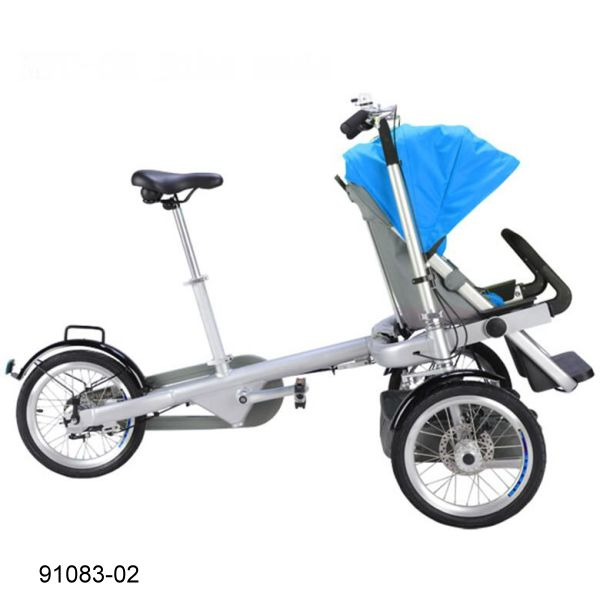 91083-02 Mother & Baby Bike
